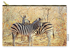 Burchells Zebras Carry-all Pouch