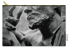 Carry-all Pouch featuring the photograph Burgher Of Calais - I by Samuel M Purvis III