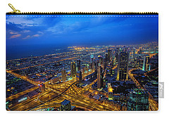 Burj Khalifa View Carry-all Pouch by Ian Good