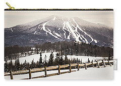 Burke Mountain And Fence Carry-all Pouch