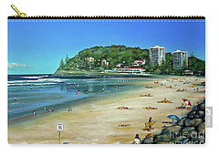 Burleigh Beach 100910 Carry-all Pouch
