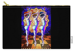 Burlesque Dancers Act One Carry-all Pouch
