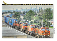 Burlington Northern Santa Fe # 6614 Carry-all Pouch by Randy Dyer