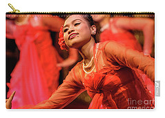 Burmese Dance 1 Carry-all Pouch by Werner Padarin