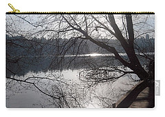 Carry-all Pouch featuring the photograph Burnaby Walk by Kim Prowse
