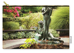 Burnett Fountain Garden Carry-all Pouch