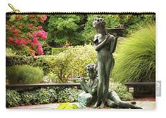 Burnett Fountain Garden Carry-all Pouch by Jessica Jenney