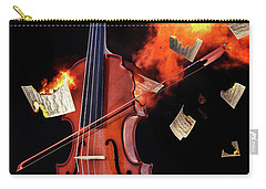Burning With Music Carry-all Pouch