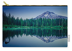 Burnt Lake Reflection Carry-all Pouch