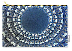 Burst Of Blue View Of A Dome Carry-all Pouch