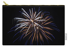Carry-all Pouch featuring the photograph Burst Of Elegance by Bill Pevlor