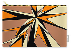 Burst Of Orange 2 Carry-all Pouch by Linda Velasquez