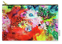 Burst Of Spring Flowers Carry-all Pouch