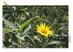 Burst Of Sun Flower Carry-all Pouch
