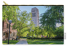 Burton Memorial Tower 1 University Of Michigan  Carry-all Pouch