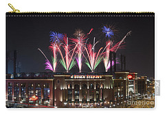 Carry-all Pouch featuring the photograph Busch Stadium by Andrea Silies