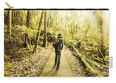 Carry-all Pouch featuring the photograph Bushwalking Tasmania by Jorgo Photography - Wall Art Gallery