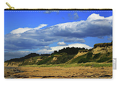 Carry-all Pouch featuring the photograph Bushy Beach by Nareeta Martin
