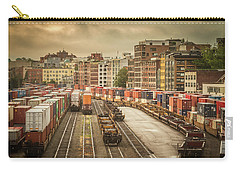 Carry-all Pouch featuring the photograph Busines End Of The City... by Russell Styles