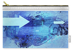 Business And Office Art Collection Carry-all Pouch by Modern Art Prints