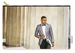 Black Businessman Carry-all Pouch