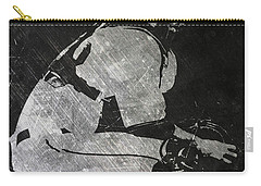 Buster Posey San Francisco Giants Art Carry-all Pouch by Joe Hamilton