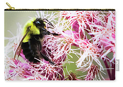 Carry-all Pouch featuring the photograph Busy As A Bumblebee by Ricky L Jones