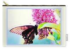 Butterfly Business Carry-all Pouch