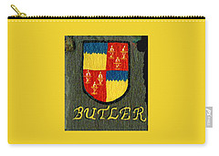 Carry-all Pouch featuring the painting Butler Family Shield by Barbara McDevitt