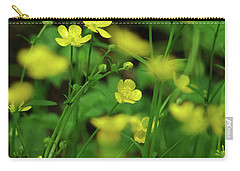 Buttercup Grouping- Vertical- Butler Creek Trail Carry-all Pouch