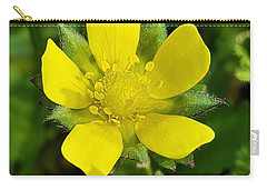 Buttercup Carry-all Pouch by Jim Harris