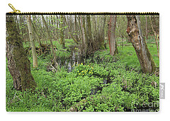 Buttercups In Wetlands Carry-all Pouch by Michal Boubin