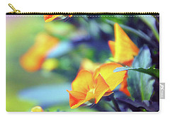 Carry-all Pouch featuring the photograph Buttercups by Jessica Jenney