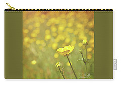 Buttercups Carry-all Pouch by Lyn Randle