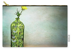 Buttercups Wildflowers In Vase Still Life Floral Carry-all Pouch