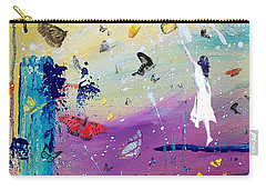 Butterflies And Me Carry-all Pouch