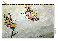Butterflies Carry-all Pouch by Edwin Alverio