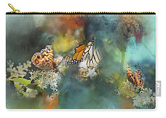 Butterflies On A Spring Day Carry-all Pouch