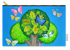 Butterflies Refuge Carry-all Pouch