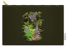 Carry-all Pouch featuring the photograph Butterflies by Thom Zehrfeld