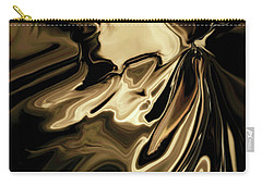 Carry-all Pouch featuring the digital art Butterfly 2 by Rabi Khan