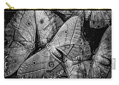 Butterfly #2056 Bw Carry-all Pouch