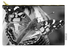 Butterfly American Lady Carry-all Pouch by James C Thomas