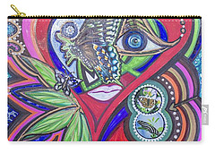 Butterfly And I Carry-all Pouch