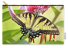 Butterfly And Lily Carry-all Pouch