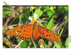 Butterfly At Canaveral National Seashore Carry-all Pouch