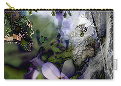 Butterfly Basket Carry-all Pouch