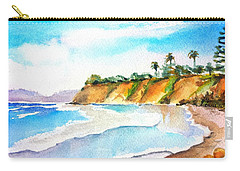 Butterfly Beach Santa Barbara Carry-all Pouch