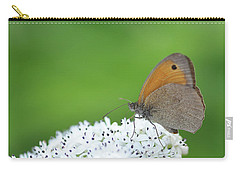 Carry-all Pouch featuring the photograph Butterfly by Bess Hamiti