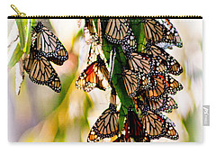 Butterfly Butterfly Carry-all Pouch